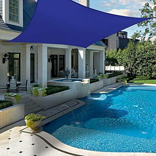 Yeanee 2X1.8 m 2X3 m Sun Shade Sail rectángulo para jardín balcón playa patio impermeable protector solar toldo anti UV viento Beige gris azul rojo
