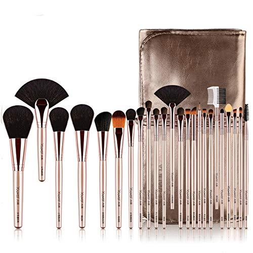 Augen Make-Up-Pinsel-Set, 24 Stück Professionellen Make-Up-Bürsten, Lidschatten, Concealer,...