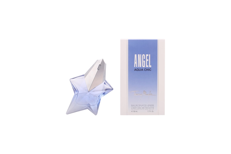 THIERRY MUGLER Angel Aqua Chic Light de 1.7 Spray Max 43% OFF Toilette Portland Mall Eau