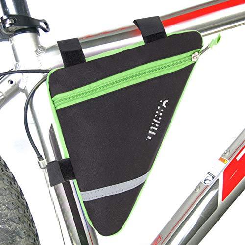 Jybhsh Gran Capacidad del marco frente de la bicicleta del bolso del triángulo for MTB bici del camino bolsa, Marco Ciclismo Bolsa y mujeres de los hombres, Ciclismo silla Bolsa de accesorios accesori