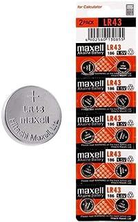 Maxell 1.5V Alkaline Button Cell Blister of 10 (V12GA)