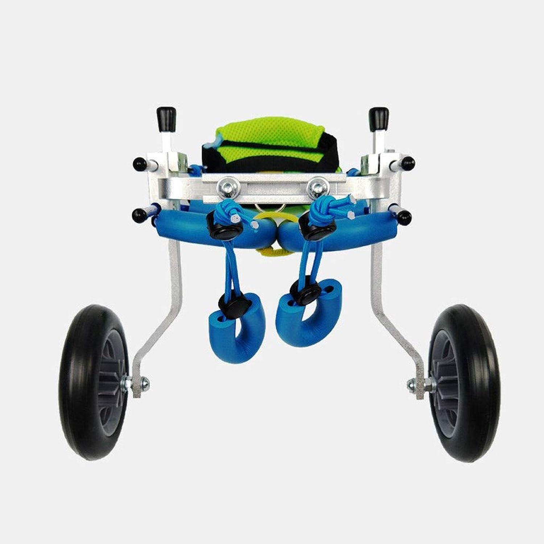 JKL Pet Moped  Dog Wheelchair, Old Dog Walker, Disabled Dog Assisted Hind Leg Exercise Car