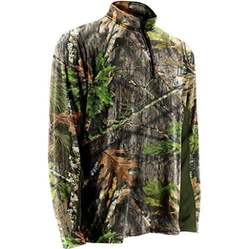 Nomad Outdoor Nwtf 1/4 Zip, Mossy Oak Obsession, Extra Large