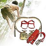 CHEIRS Climbing Treestand Strumento per Arrampicata su Alberi Antiscivolo in Acciaio Inossidabile, artefatto per Arrampicata su Alberi, utilizzato per la Raccolta della Frutta, la Caccia,500model