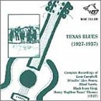 Texas Blues 1927 - 1937