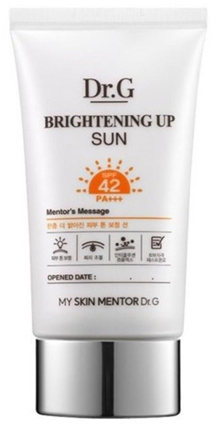 苗衛星同等の[ドクターG] Dr.G ブライトニング アップ サンクリーム Brightening Up Sun Cream SPF42 PA+++ 50ml [並行輸入品]