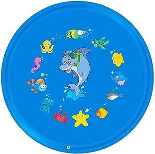 N_A Césped al Aire Libre Playa del Animal de mar de Agua Inflable Agua de los aspersores niños juegan Estera del cojín de hidromasaje Alberca