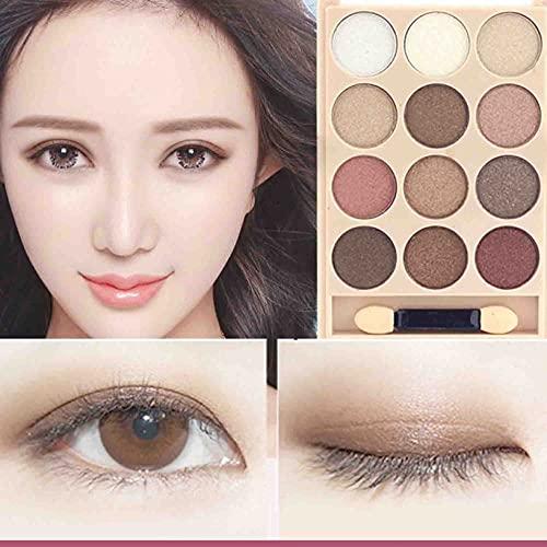 Nuevo Sombra de Ojos Naranja Pomelo Calabaza Sombra de Ojos Multicolor de Color Tierra Mate