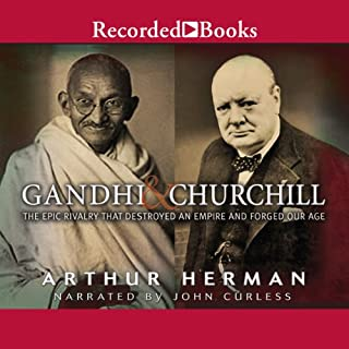 Gandhi & Churchill audiobook cover art