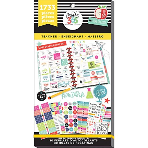 me & my BIG ideas Sticker Value Pack for Big Planner - The Happy...