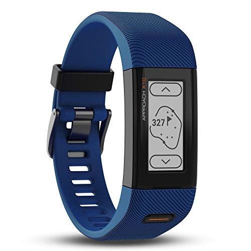 Save %6 Now! Garmin Approach X10 GPS Golf Band, Bolt Blue, Small/Medium, 010-01851-01 (Certified Ref...