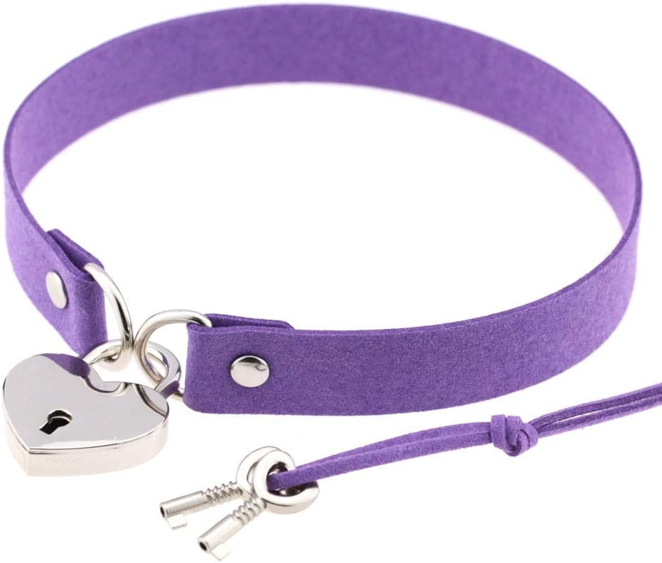 Mewxzvnek with Popular popular Lock and Necklace Key New products world's highest quality popular Padlock Necklac