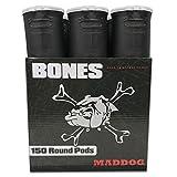 Maddog 150 Round Bones Paintball Pod - Black - 6 Pack
