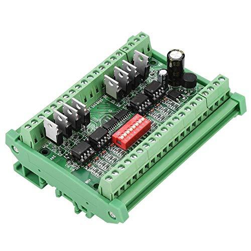Akozon Level Converter 8 Kanal Pegelwandler NPN/PNP zu NPN 5V / 24V Rechtecksignal-Umwandlungsmodul Pegelwandler 10MHZ