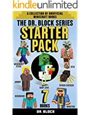 The Dr. Block Series Starter Pack: The first book in every Dr. Block unofficial Minecraft fanfiction series (a collection of unofficial Minecraft books)