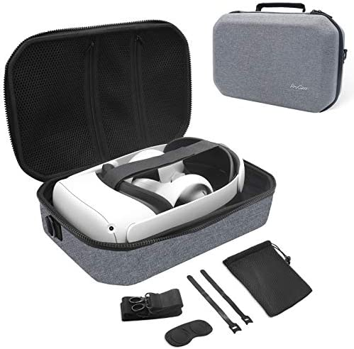 ProCase Hard Travel Case for Oculus Quest 2 VR Gaming Headset Controllers Accessories Shockproof product image