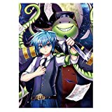 Ailin Online Assassination Classroom Poster Silk Anime Art Prints para decoración de pared del hogar, 29 x 42 cm (estilo 07)