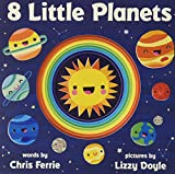 8 Little Planets: A Solar System Book for Kids with Unique Planet Cutouts