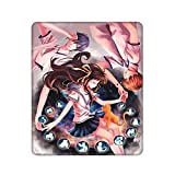 Fruits Basket Anime Tohru Yuki Kyo Mouse Pad Gaming Mouse Pad, Computer Keyboard Rectangle Mouse Mat Desk Pad with Non-Slip Rubber Base and Stitched Edges for Laptop, PC, Gaming, Home Office Work