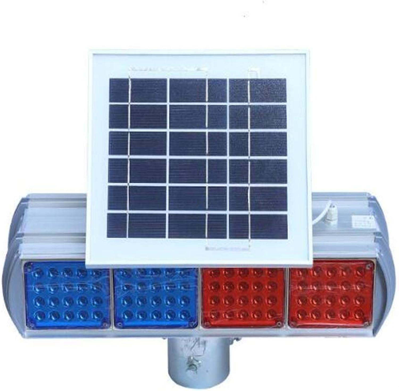 WXH Notfall Gefahr Blitzlicht Hohe Intensitt Sicherheit Warnung Led Solar Strobe Warnlicht Hochwertige wasserdichte Baustrae