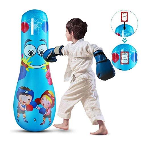 llddrz Saco Boxeo Saco de Boxeo Ejercicio Bolsa de perforación Inflable para niños Capacitación de Boxeo para niños Columna 12 5 CM Bolsa de ventilación para el Alivio del estrés