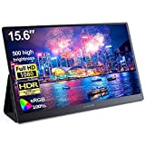 C-FORCE CF011C 15.6-inch 1080p IPS USB-C Portable Display with HDMI & PD Inbox Power Adapter &...