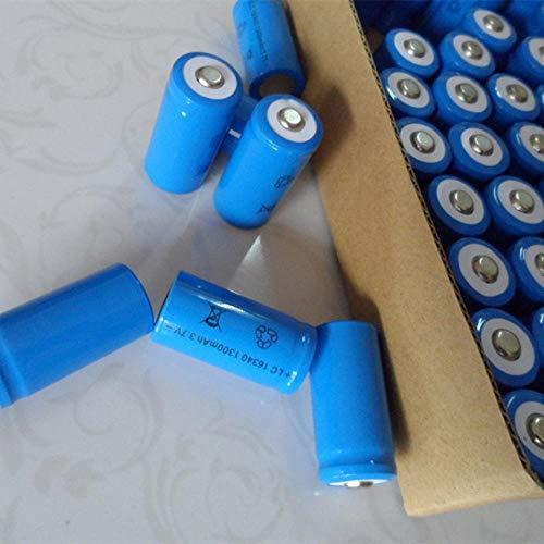 4 Stück/Set Wiederaufladbarer CR123A 16340 1300mAh 3 7V Li-Ionen-Akku für Batterie-Litio-Akku Großhandel