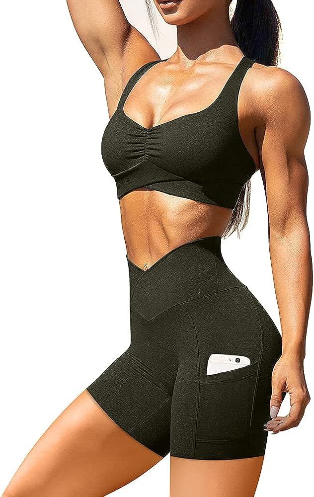 Save money BEAGIMEG Women's Sexy 2 Pieces Outfit Regular dealer Sh Crop Halter Top Bodycon