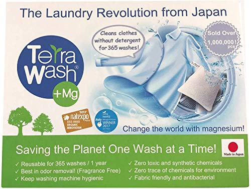 Mg Eco Laundry Sachet - Detergent Substitute - Reusable for 365 Washes