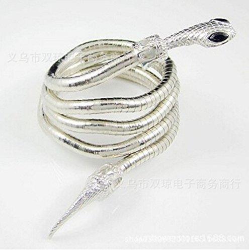 The Mortal Instruments City of Bones Isabelle Lightwood di lega di rame Whip Serpent ying-yang braccialetti Bracciale bracciali accessori