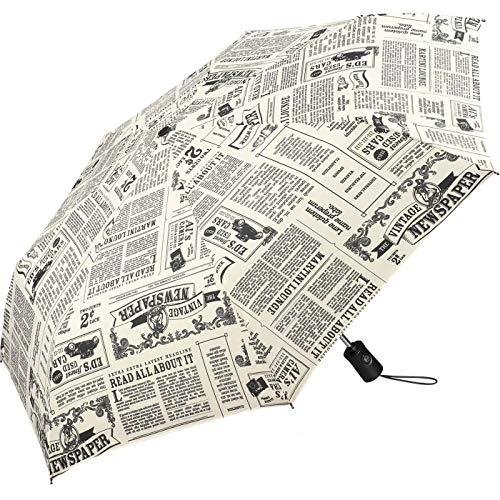 Regenschirm Newspaper - Taschenschirm Auf-Zu-Automatik