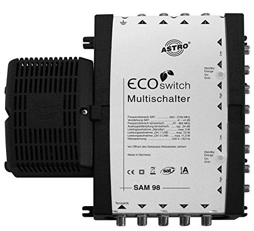 Astro SAM 98 Ecoswitch Video-Switch - Video-Switches (289 x 214 x 57 mm, 16 W)
