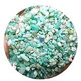 DALEI Crystal se desplomó Pulido de ágata Natural Piedras de la Grava para Las Plantas y Oficios - Pequeño Tamaño