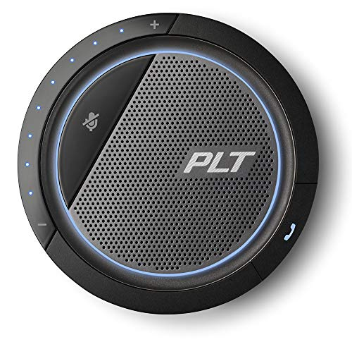 Plantronics 210903-01 Plantronics Calisto 5200 Speakerphone - USB - Microphone - Battery - Portable - Black
