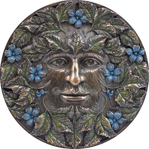 Nemesis Now Beltane - Placa de pared (16 cm), color bronce