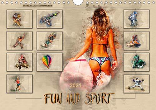 Fun and Sport (Wandkalender 2021 DIN A4 quer)