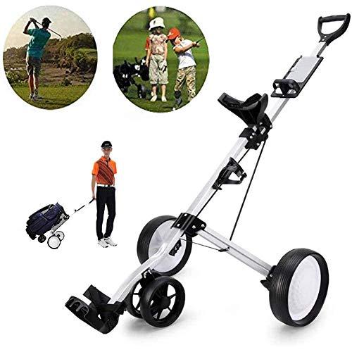 Professionelle Swivel Faltbare 4 Räder ziehen Golf Trolley mit justierbarer Handgriff Winkel, Scorecard, Getränk r, Fußbremse, leicht zu öffnen und Schließen ZHNGHENG