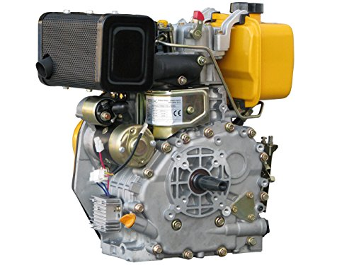 Rotek luftgekühlter 1-Zylinder 4-Takt 306ccm Dieselmotor, ED4-0306-E-FG2A