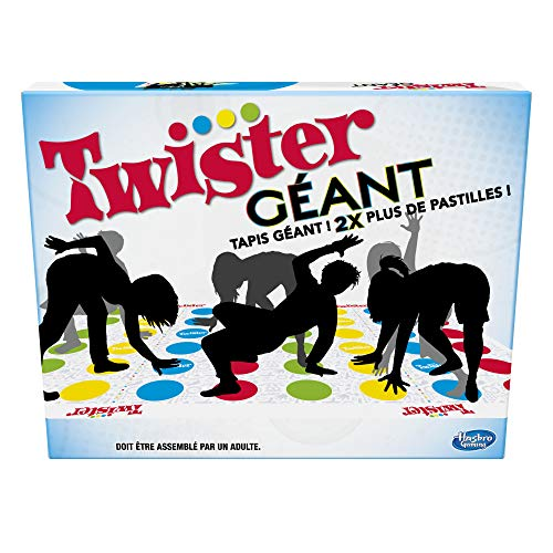 Twister - Juego de Equilibrio Divertido, versión Francesa