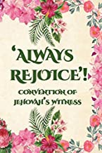 Always Rejoice Convention Of Jehovah's Witnesses: JW Gifts Regional Convention Of Jehovah's Witnesses 2020 Notebook Gift | Jehovah's Witnesses Gifts. Green