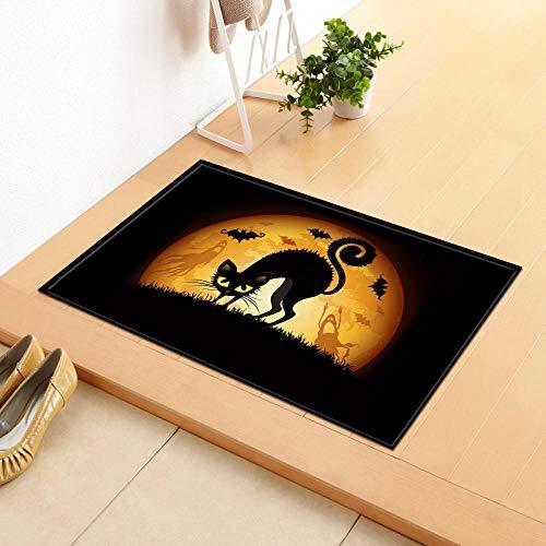 mubgo bad matten welkom zwart bad mat badkamer tapijt water absorptie tapijt sjaal geheugen schuim India keuken deurmat vloer deken 40X60Cm