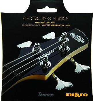 Ibanez IEBS 4 Coated Nickel Wound Mikro Bass Guitar Strings  IEBS4CMK