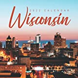 """Wisconsin 2022 Calendar: From January 2022 to December 2022 - Square Mini Calendar 8.5x8.5"""" - Small Gorgeous Non-Glossy Paper"""