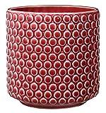 Bloomingville Vaso da fiori, rosso, ceramica...