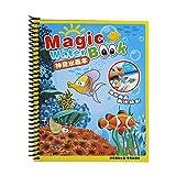 Enfants réutilisables Livre de Peinture Graffiti Coloring Board Enfant Dessin Magique Livre de Magie de l'eau pour Les Enfants de Plus de 3 Ans(#2)