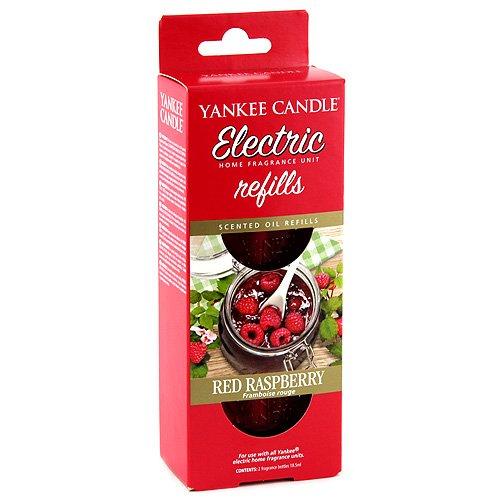 Yankee Candle 1336145E Red Raspberry diffusore Elettrico Doppio Confezione di Ricarica, Multicolore, 4.5x7x17 cm