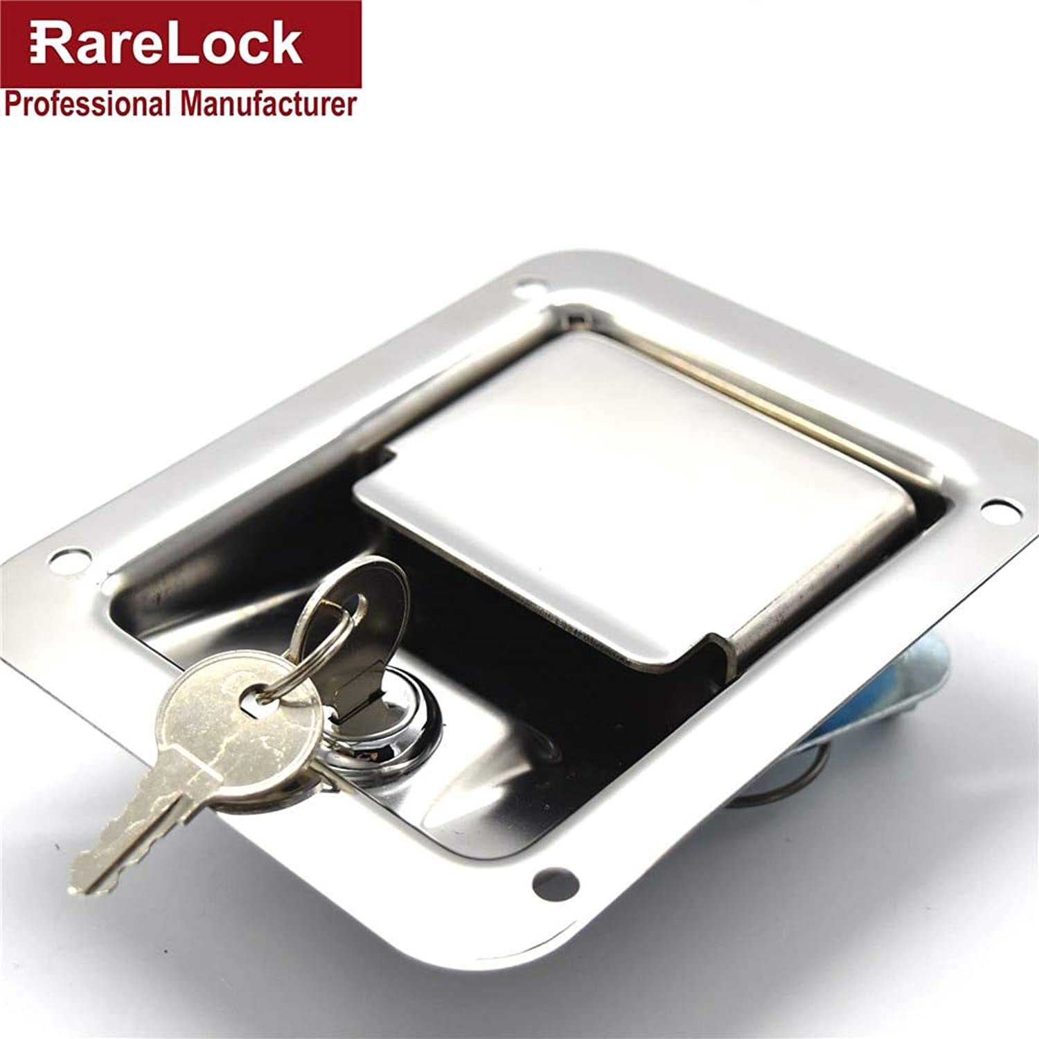 Rarelock New Design Professional Stainless Steel Hardware Bus,Truck Car Door Lock Cerradura d