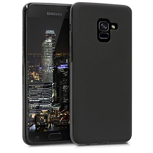 kwmobile Samsung Galaxy A8 (2018) Hülle - Handyhülle für Samsung Galaxy A8 (2018) - Handy Case in Schwarz matt
