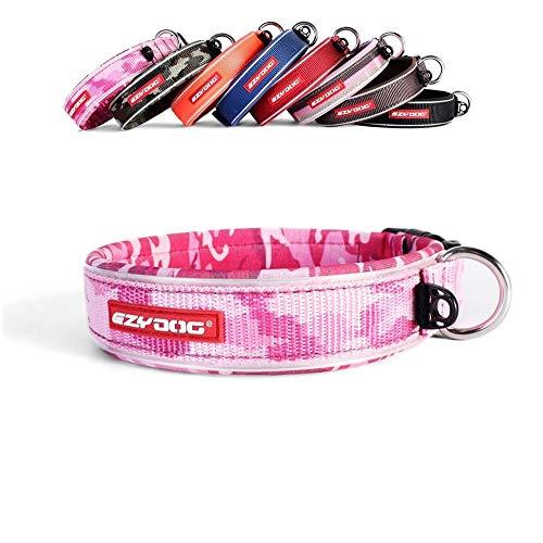 EzyDog Neo - Hundehalsband - Large(45-51cm) - Rosa Camo