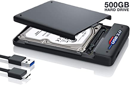 "Hard Disk Esterno Portatile da 500Gb da 2,5"" USB 3.0/2.0 per Notebook/pc - Confronta prezzi"